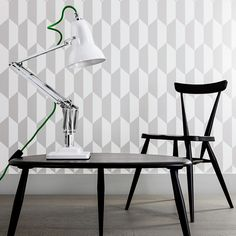Anglepoise® Duo1227™ range Inspired by George Carwardine. Launched in 2012, The Duo1227™ transports the original 1934 Anglepoise® design into the 21st Century. This is the lamp of choice for anyone looking for a highly adjustable, traditional style lamp with a smart, contemporary aesthetic.  Thanks to Ercol and Cole & Son®, Photographer: www.spacialimages.com , Stylist: www.emmahooton.com , www.anglepoise.com