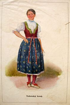 Category:National costumes of the Czech Republic Folk Clothing, Medieval Clothing, Folk Costume, Costumes, Contemporary Decorative Art, Naive Art, Black Forest, Whimsical Art, Hula
