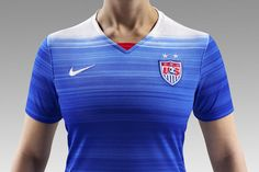 a410df62ee2 USWNT 2015 Away Soccer Jersey for the Women s World Cup Soccer Workouts