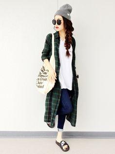 Ł♡νЁ●ΦωΦ●aiさんの「MURUA 」を使ったコーディネート Japan Fashion, Fashion 2018, Spring Fashion, Denim Fashion, Fashion Outfits, Womens Fashion, Korean Spring Outfits, Asian Street Style, Mode Outfits