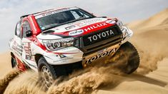 Here's Your Quick and Dirty 2019 Dakar Rally Winners Round Up: The 2019 Dakar Rally is over with Toyota beating… Toyota Hilux, Toyota Tacoma, Toyota Supra, Autos Rally, Rally Car, Toby Price, Expedition Vehicle, Truck Design, Automotive News