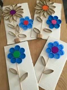 flowers kids art * flowers kids art ` flowers kids art spring ` flowers kids art ideas ` flowers kids art projects ` flowers kids art children ` flowers art projects for kids ` spring flowers art for kids ` flowers arts and crafts for kids Kids Crafts, Summer Crafts, Preschool Crafts, Arts And Crafts, Paper Crafts, Creative Crafts, Recycled Crafts Kids, Cardboard Crafts, Art Crafts