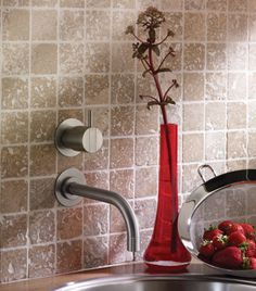 VOLA 311 wall-mounted faucet
