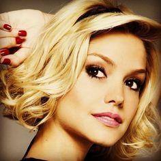 Hair & beautiful makeup....