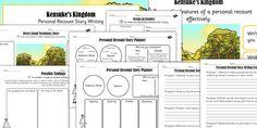 Kensuke's Kingdom Inspired Desert Island Story Writing Lesson Teaching Pack