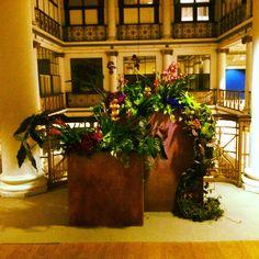 Corridor planters