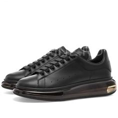 Adidasi dama negri casual ZR A8850 Smooth Leather, Black Leather, Fashion Shoes, Mens Fashion, Signature Style, All Black Sneakers, Alexander Mcqueen, Women Wear, Louis Vuitton