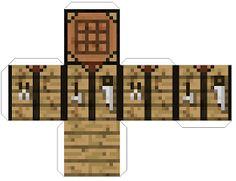 Spieletipps und mehr: Bastelbögen Minecraft - Everything About Minecraft Minecraft Crafts, Papercraft Minecraft Skin, Minecraft Templates, Minecraft Room, Minecraft Creations, Minecraft Printable, Paper Toys, Paper Crafts, Minecraft Mods