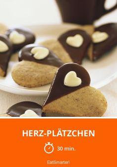 Herz-Plätzchen - smarter - Zeit: 30 Min. | eatsmarter.de