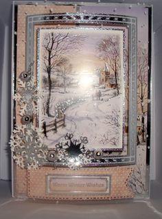 Hunkydory Christmas Craftinator 15 with Snowfall acetate dome