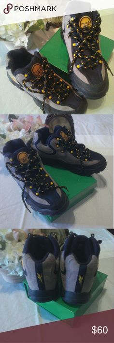 43b4c6e567f 🌼PRICE DROP🌼 Reebok High Tops Hiking Boots Excellent condition! I got  these. Hiking BootsMen s ...
