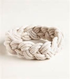Rope bracelet that you had to cut off once it got dirty