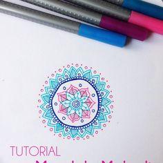 Probando Ando: ¿Cómo dibujar mandalas? - ¡Nueva sección!