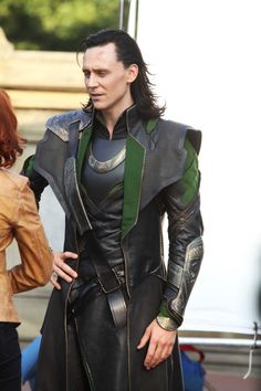 Loki costume shot (Sept 2, 2011, while filming in Central Park)