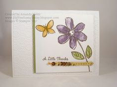 Did You Stamp Today?: Garden in Bloom Thank You - Stampin' Up!