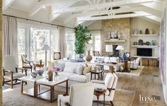 Imbued with a timeless sensibility, an oceanfront retreat near Santa Barbara…