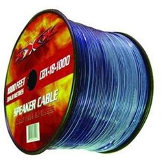 Xxx Cbx181000 18 Ga 1000 Spool Speaker Wire With Translucent Insulation by XXX. $46.69. Description:CBX181000:SPEAKER WIREΖ GAUGE