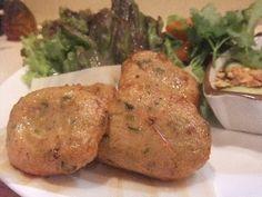 Thailand-like fried fish balls(タイ風さつま揚げ)