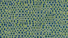 Modern Navy Blue and Lime Green Upholstery by PopDecorFabrics