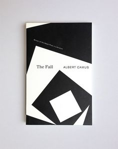 """Helen Yentus (New York) ∙ Article Book cover design for Albert Camus novels [[MORE]]""""[Yentus] redesigned the complete works of Camus, whom she cites as a personal inspiration. The covers' stark,. The Reader, John Gall, The Fall Albert Camus, The Fall Camus, Good Books, Books To Read, Minimalist Book, Buch Design, Fallen Book"""