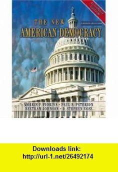New American Democracy, Alternate Edition, The (4th Edition) (9780321210012) Morris P. Fiorina, Paul E. Peterson, Bertram Johnson, D. Stephen Voss , ISBN-10: 0321210018  , ISBN-13: 978-0321210012 ,  , tutorials , pdf , ebook , torrent , downloads , rapidshare , filesonic , hotfile , megaupload , fileserve