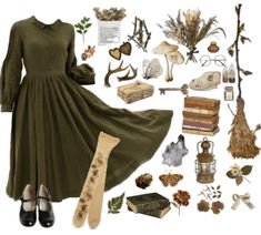 Fae Aesthetic, Aesthetic Fashion, Aesthetic Clothes, Grunge Style, Soft Grunge, Pretty Outfits, Cute Outfits, Goblin, Witch Outfit