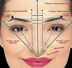 Makeup Tips Eyeshadow, Eyebrow Makeup Tips, Permanent Makeup Eyebrows, Eyebrow Tinting, Eye Makeup Steps, Contour Makeup, Skin Makeup, Beauty Makeup, Mircoblading Eyebrows
