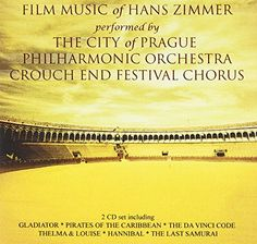 Film Music Of Hans Zimmer Record Label: Silva Screen Catalog Year Of Release: 2007 The Last Samurai, Thelma Louise, Pirates Of The Caribbean, Music Albums, Orchestra, Reading, City, Movie Posters, Hans Zimmer