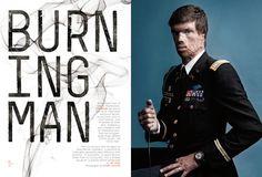 Fred Woodward, Burning Man spread for GQ
