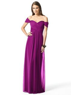 bridesmaid dresses - i would have in a deeper purple