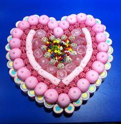 Duldi Sant Cugat ha elaborado este corazón para una princesita de 6 añitos.