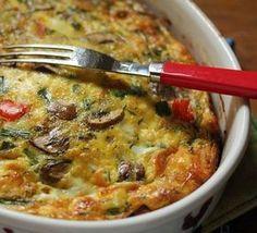 Asparagus & Mushroom Tart