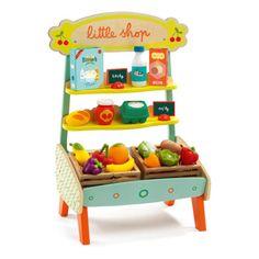 Djeco Mercnate guarnito Little Shop-listing
