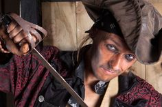 This be Thomas Brown, Pirates Quest Newquay, Cornwall