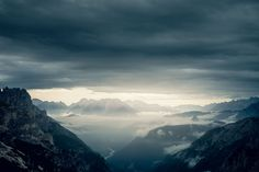 A few landscape photos taken during a short trip to the Dolomites.