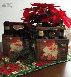 Printable Christmas Beer Holder