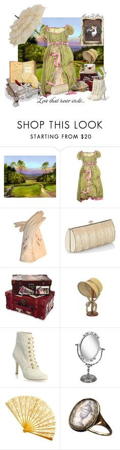 """Pride and Prejudice"" by bachiillfaveursets ❤ liked on Polyvore featuring Илья Челышев, Be & D, CO, ASOS, Monsoon, Markon, lace, green, actors and ring"
