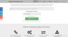 Mp3 Converter is free Youtube to mp3 Converter tool to Convert Youtube To Mp3, Mp4, f4v, webm and more. You may also Download and Convert Vimeo, Dailymotion and more.