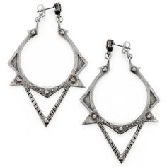 Bing Bang NYC Sun Spike Earrings (327.610 COP) ❤ liked on Polyvore featuring jewelry, earrings, earring jewelry, bing bang earrings, bing bang jewelry, spiked earrings and bing bang