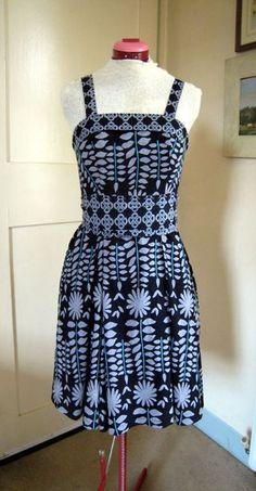 Skirt to dress tutorial