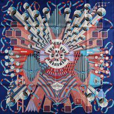 Point D Orgue Pierre Marie Hermes Carre Scarf 90 Bnib Pierre Marie, Chic Et Choc, Deco Paint, Small Scarf, Blue Point, Silk Scarves, Hermes Scarves, Designer Scarves, Scarf Design