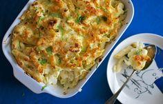 Lapsellista lihatonta: Kukkakaali-mac'n'cheese