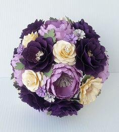 Paper Bouquet  Paper Flower Bouquet  Wedding Bouquet