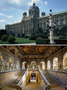 The Natural History Museum, Vienna, Austria.