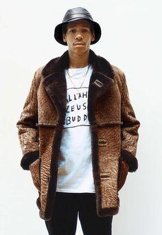 The Supreme Fall/Winter Collection is Eccentric #coats #mensfashion trendhunter.com