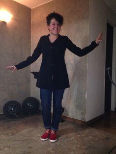 Ivonne se siente feliz con sus boticas rojas #catanavia #yosoycatanavia