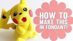 Pokemon fondant Pikachu                                                       …