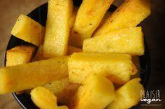 Plaisir vegan: Polenta croustillante à l'ail