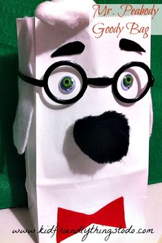 Mr.Peabody Gift Bag!- A unique movie night theming idea from Southern Outdoor Cinema