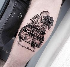 Life is a Beach | Best tattoo ideas & designs